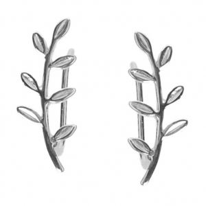 Pendientes Trepadores Leaves Capa a Capa